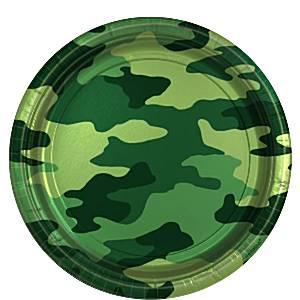 Camo Military Themed Party