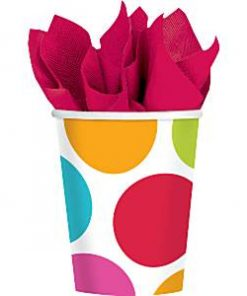Cabana Dots Party Paper Cups