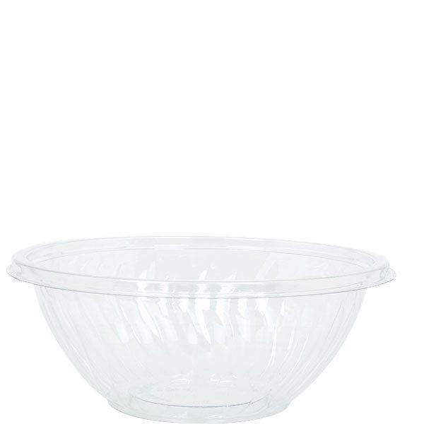 Clear Plastic Serving Bowl