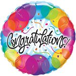Congratulations! Foil Balloon