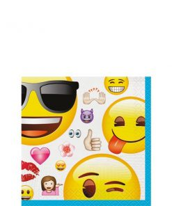 Emoji Party Paper Beverage Napkins