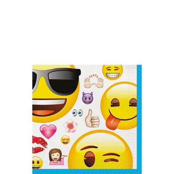 Emoji Party Paper Beverage Napkins