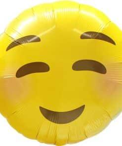 Emoji Blushing Balloon