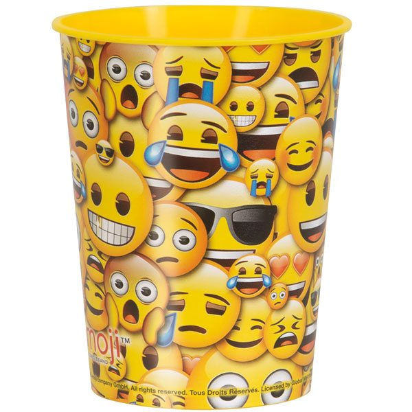Emoji Party Plastic Gift Cup