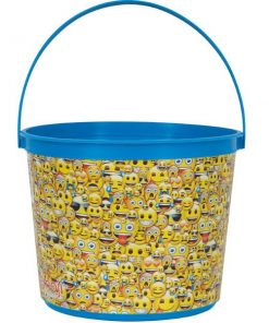 Emoji Party Favour Bucket Container