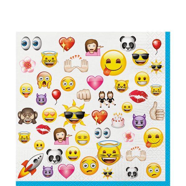 Emoji Party Paper Napkins