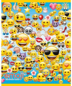 Emoji Party Plastic Loot Bags