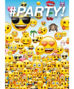 Emoji Party Invites - Invitation Cards