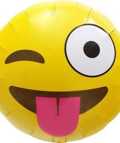 Emoji Winking Balloon