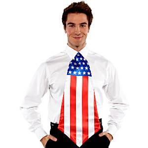 Jumbo American Flag Tie