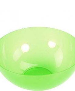 Lime Green Large Plastic Serving Bowl - 3.5L