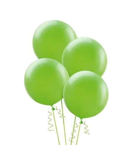 Lime Green Party Balloons