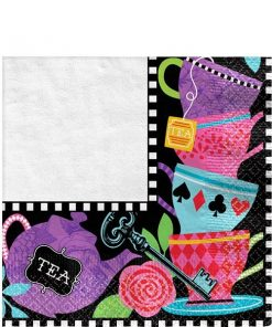 Mad Tea Party Paper Napkins