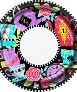 Mad Tea Party Paper Plates