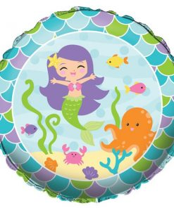 Mermaid Friends Party Foil Balloon