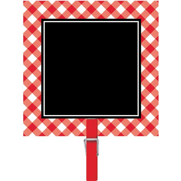 Picnic Party Chalkboard Clip