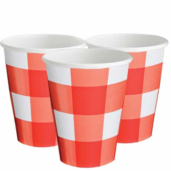 Picnic Party Paper Cups