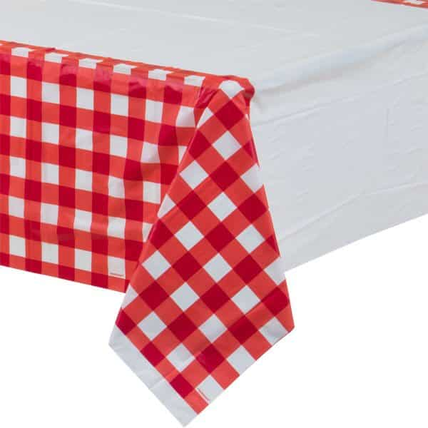 Picnic Party Plastic Tablecover
