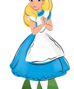 Alice in Wonderland Lifesize Cutout