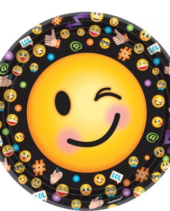 Smiley Party Paper Plates