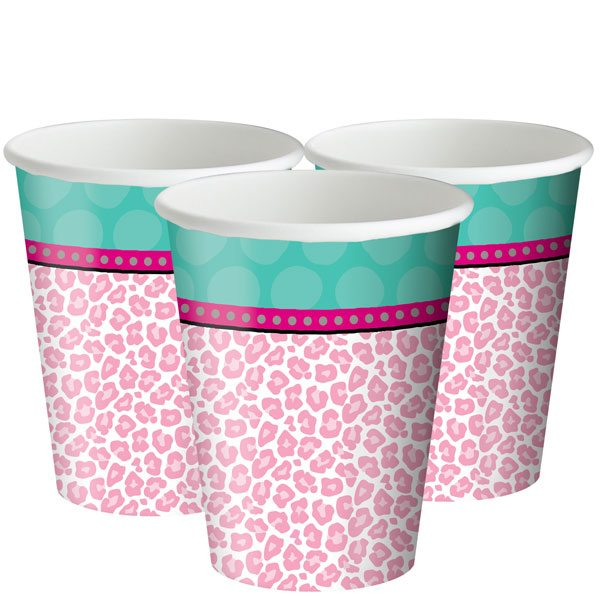 Sparkle Spa Party Paper Cups