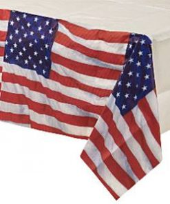 USA American Flag Party Paper Tablecover