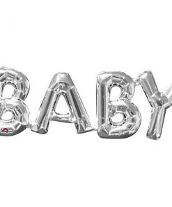 BABY Silver Foil Balloon