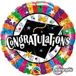Graduation Party Congratulations Grad Cap Foil Balloon