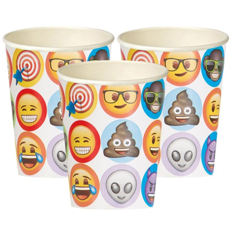 Emoji Party Paper Cups