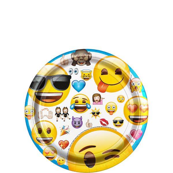 Emoji Party Paper Dessert Plates