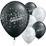 Congratulations Graduate Printed Latex Balloons