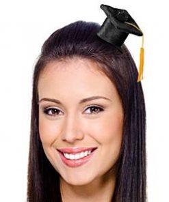 Graduation Party Mini Graduation Cap Hair Clip