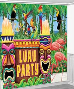 Luau Party Scene Setter Decorating Kit