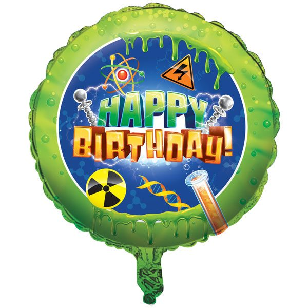 Mad Scientist Party Foil Balloon