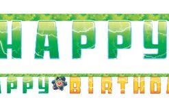 Mad Scientist Party Happy Birthday Letter Banner