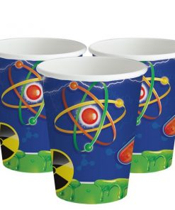 Mad Scientist Party Paper Cups
