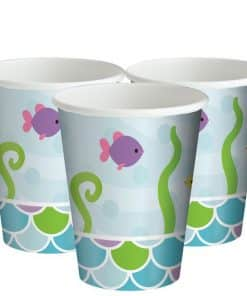 Mermaid Friends Party Paper Cups