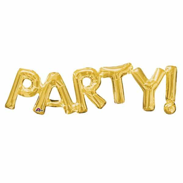 PARTY Gold Foil Balloon