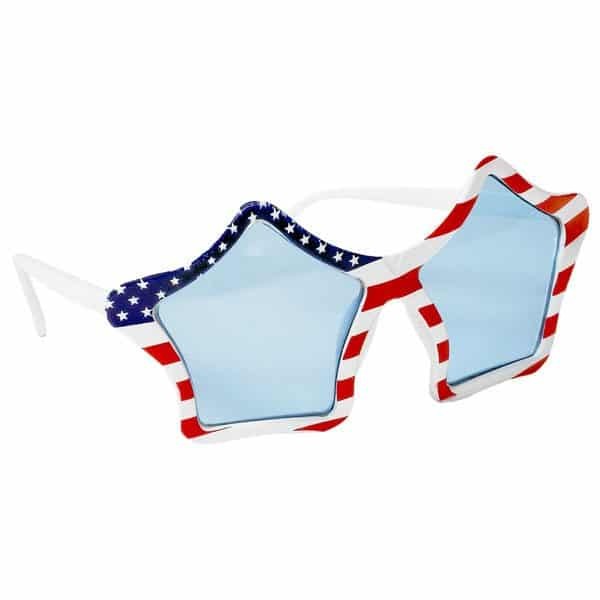 USA American Flag Glasses