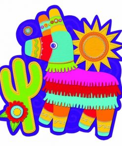 Mexican Fiesta Party Pinata Cutout
