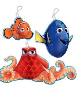 Disney Finding Dory Party Honeycomb Decorations
