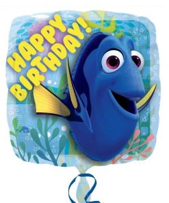 Disney Finding Dory Party Foil Happy Birthday Balloon