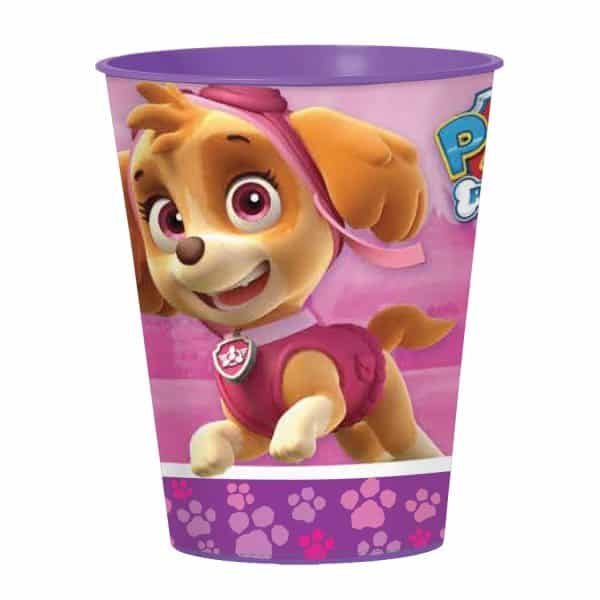 Paw Patrol Pink Party Plastic Favour Cup