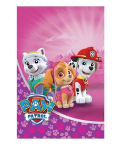 Paw Patrol Pink Party Plastic Loot Bags