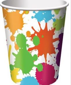 Art Themed Party Paper Cups