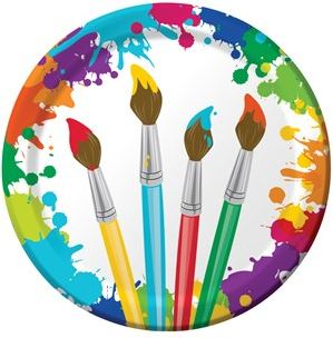 Art Themed Party Supplies