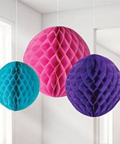 Brights Honeycomb Decorations