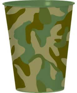 Army Camouflage Favour Cup