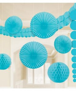 Turquoise Room Decorating Kit