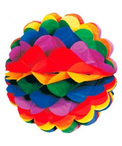 Rainbow Honeycomb Decoration